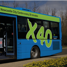 Newcastle Great Park – Life Why not let Service X40 take you to the